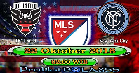 Prediksi Bola855 DC United vs New York City 22 Oktober 2018