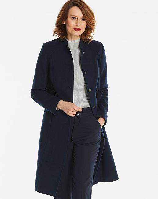 jd williams fit and flare coat
