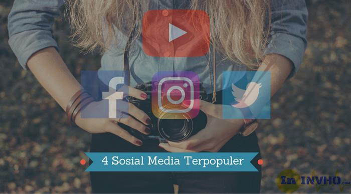 4 Sosial Media Terpopuler
