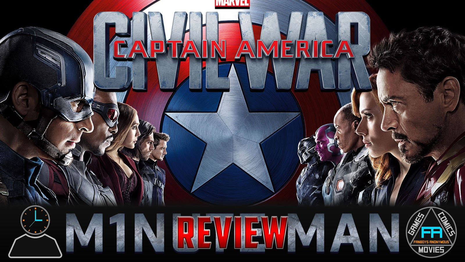 movie review Captain America: Civil War podcast