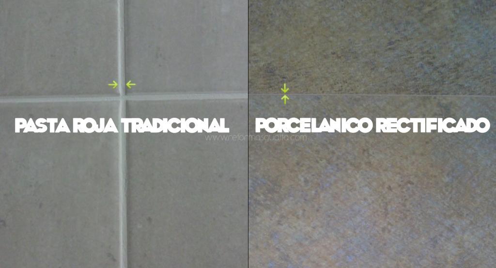 Como colocar azulejos rectificados materiales de - Suelo rectificado ...