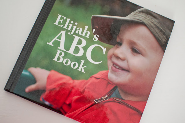 DIY personalized alphabet book