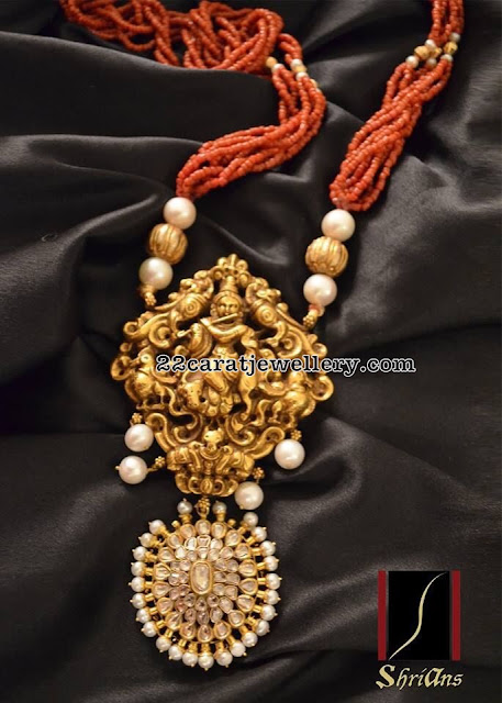 Two Step Krishna Pendant