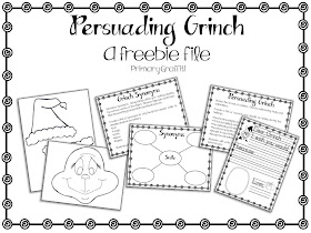 Primary Graffiti: Grinning Grinch {Persuasive Freebie}