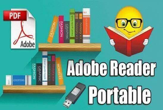 تحميل برنامج Adobe Reader Portable قارئ الكتب الالكترونية PDF للكمبيوتر نسخة محمولة