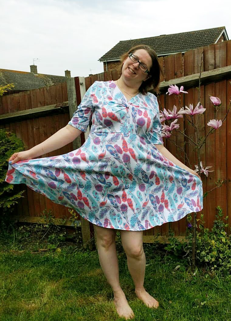 kleid zoe rosa p
