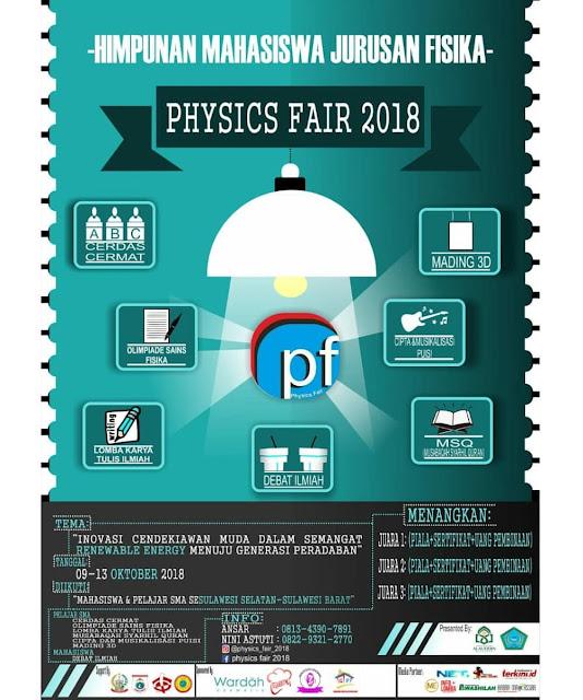 Contest Physics Fair 2018