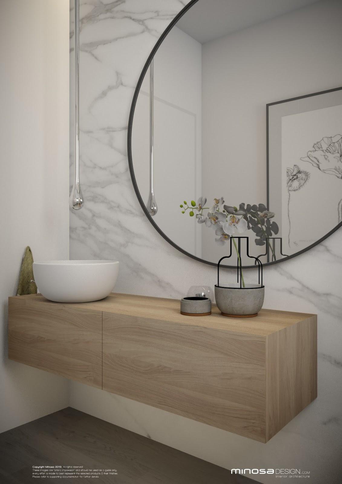 Minosa: Powder Room - The WOW bathroom on Bathroom Apartment Ideas  id=26256