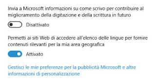 windows 10 registra quello che scriviamo