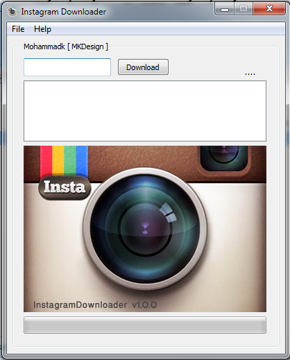 Download Instagram Photos Of Any User With Instagram
