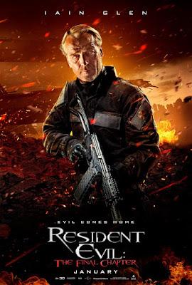 Resident Evil: The Final Chapter Iain Glen Poster
