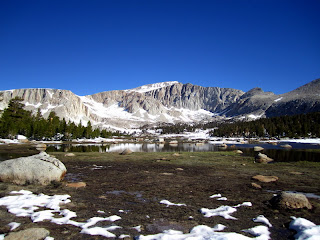 Mt. Langley as seen from Cottonwood Lakes.