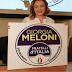 """Europee 2019, Giorgia Meloni presenta il nuovo simbolo col richiamo a """"sovranisti e conservatori"""""""
