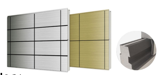 Metal Panel dạng Line