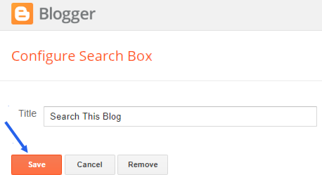 insert blogger gadgets