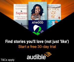 Get a free audiobook! (aff)