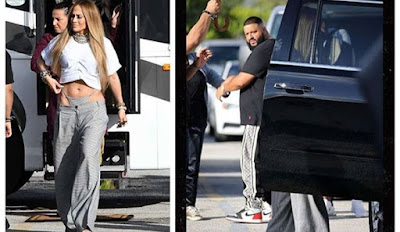 Jennifer Lopez Flaunts thong, Nearly Breaks DJ Khaled's neck
