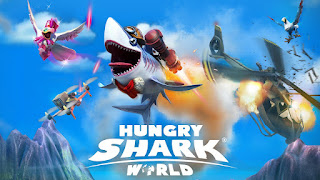 Hungry Shark World Mod Apk v2.3.0 Full version Terbaru
