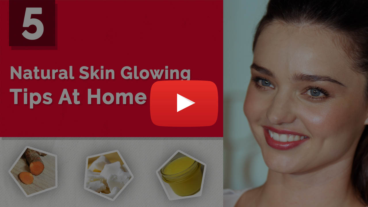 One day Natural Skin Glowing Tips at home - Ayurveda Techniques Video