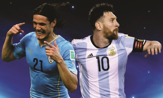 Uruguay host Argentina in a mouth-watering CONMEBOL 2018 FIFA World Cup qualifier.
