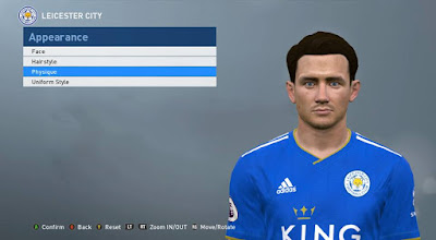 PES 2017 Faces Ben Chilwell by ABW_FaceEdit