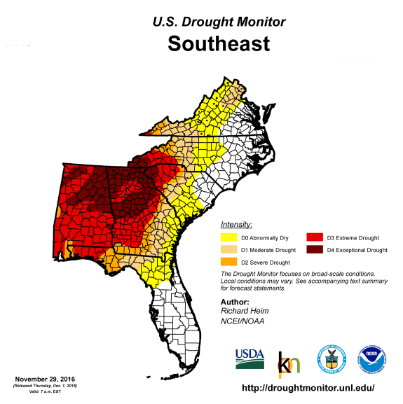 The Southeast Is Becoming A Wildfire Hotspot