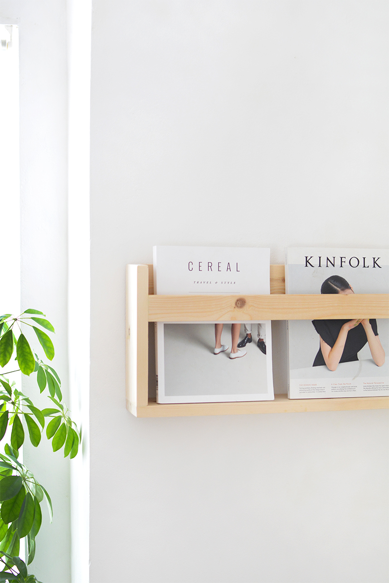 how to build a magazine holder