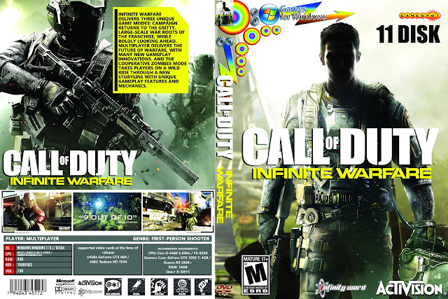 Capa Call Of Duty Infinite Warfare PC