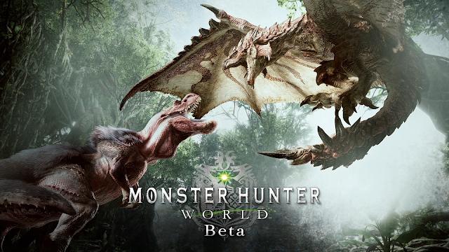 《魔物獵人 世界》 beta 測試初步心得&影片分享