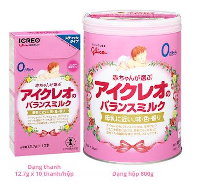 Sữa Glico Nhật và sữa S26 Úc - sữa nào tốt hơn?