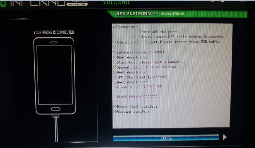 HASINA TELECOM **: SYMPHONY E58 FLASH FILE SPD7715 4 4 2 (deat boot