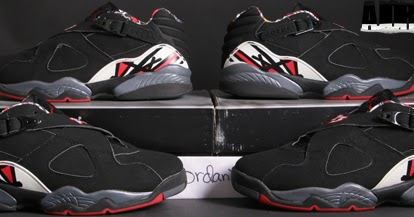 uk availability 82949 ceb49 ajordanxi Your  1 Source For Sneaker Release Dates  Air Jordan VIII Retro  Low Black True Red-Del Sol (2003)