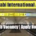 Latest Job Vacancies in Abu Dhabi International Airport - Apply Now