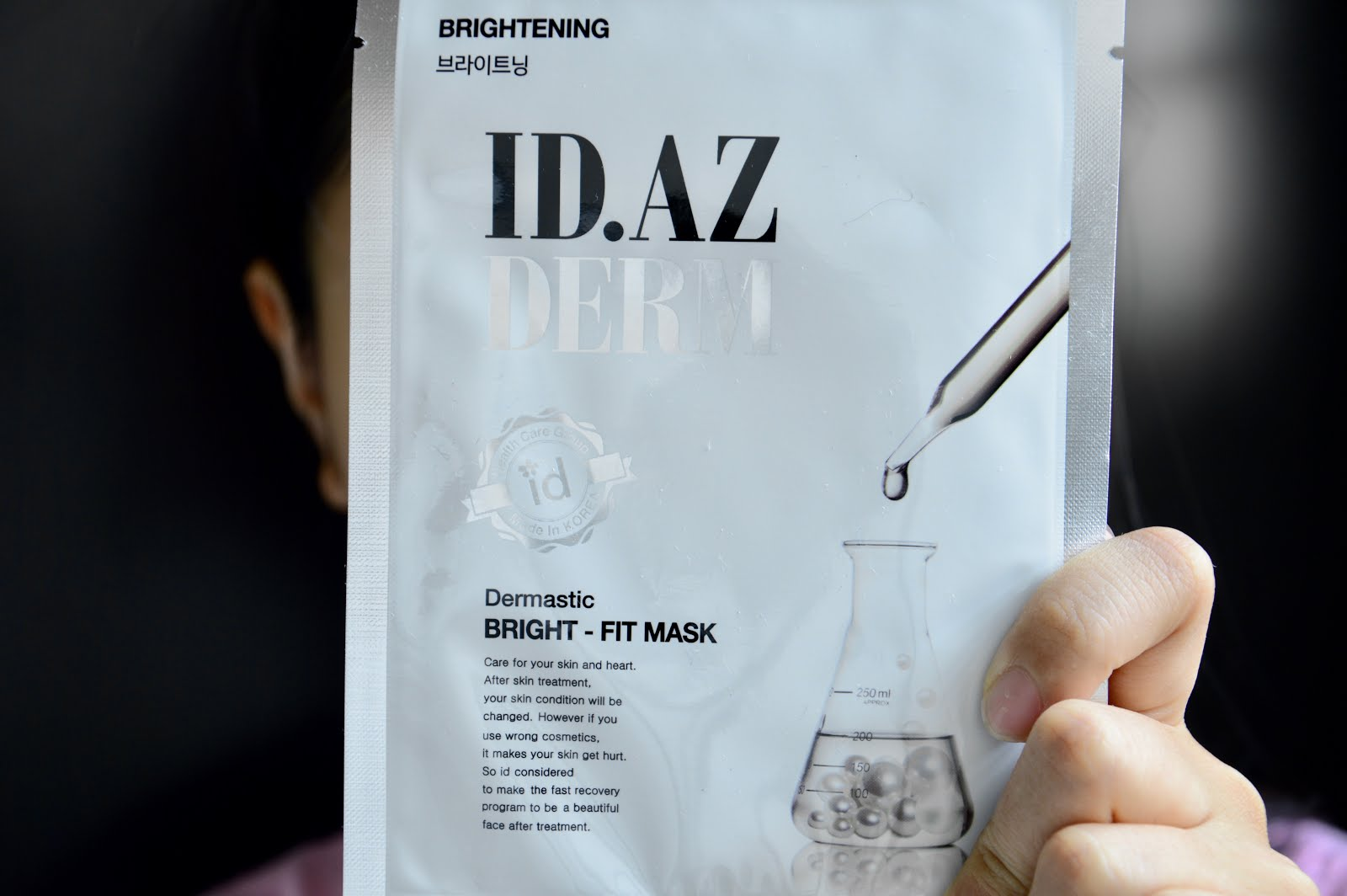 IDAZ Dermastic mask