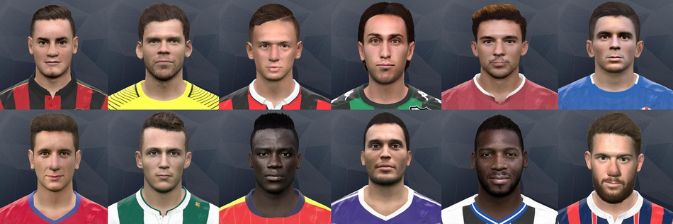 PES 2017 Face Pack No5 by Andrey_Pol and Gonduras2012