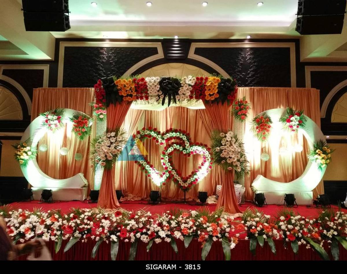 Budget Wedding And Reception Decoration Models Ideas