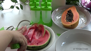 HomeChef water melon knife