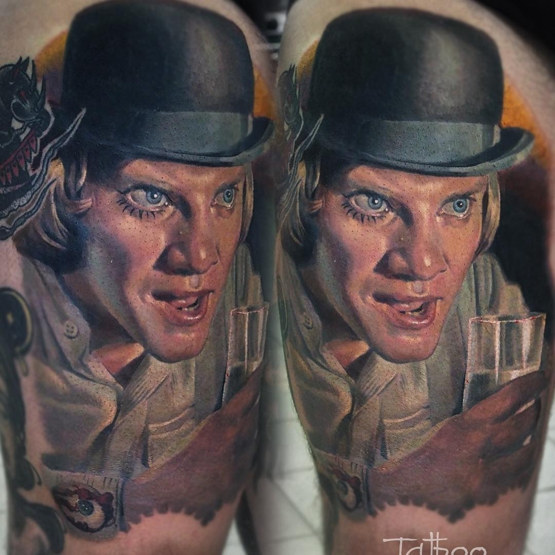 06-Clockwork-Orange-Valentina-Ryabova-Art-and-Realism-in-Tattoo-Drawings-www-designstack-co