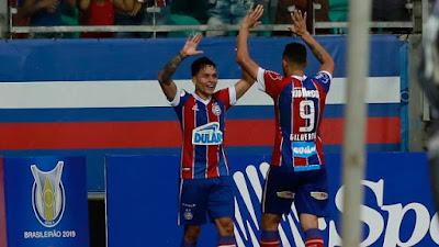 Bahia 1 x 0 Avaí - Campeonato Brasileiro 2019 rodada 3