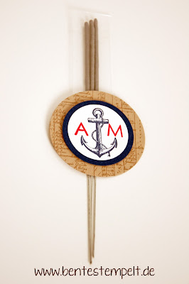 stampin up einladung hochzeit maritim the open sea Wunderkerzen