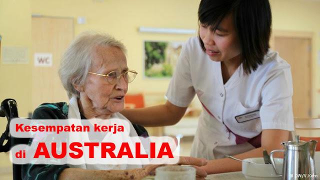 Pemerintah Akan Membuka TKI Perawat Untuk Bekerja di Australia