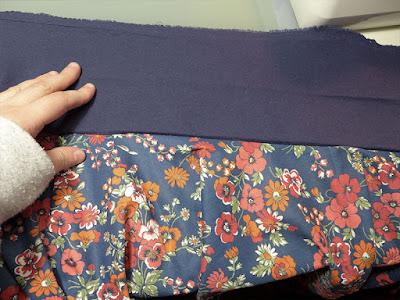 assemblage ceinture jupe