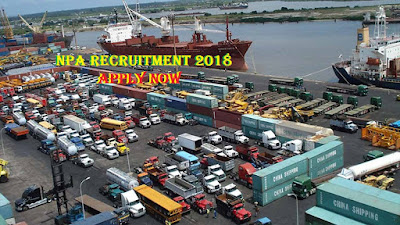 2018/2019 NPA Recruitment Form - Nigeria Ports Authority Vacant Position