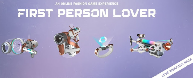 First Person Lover Fashion Game Weapons