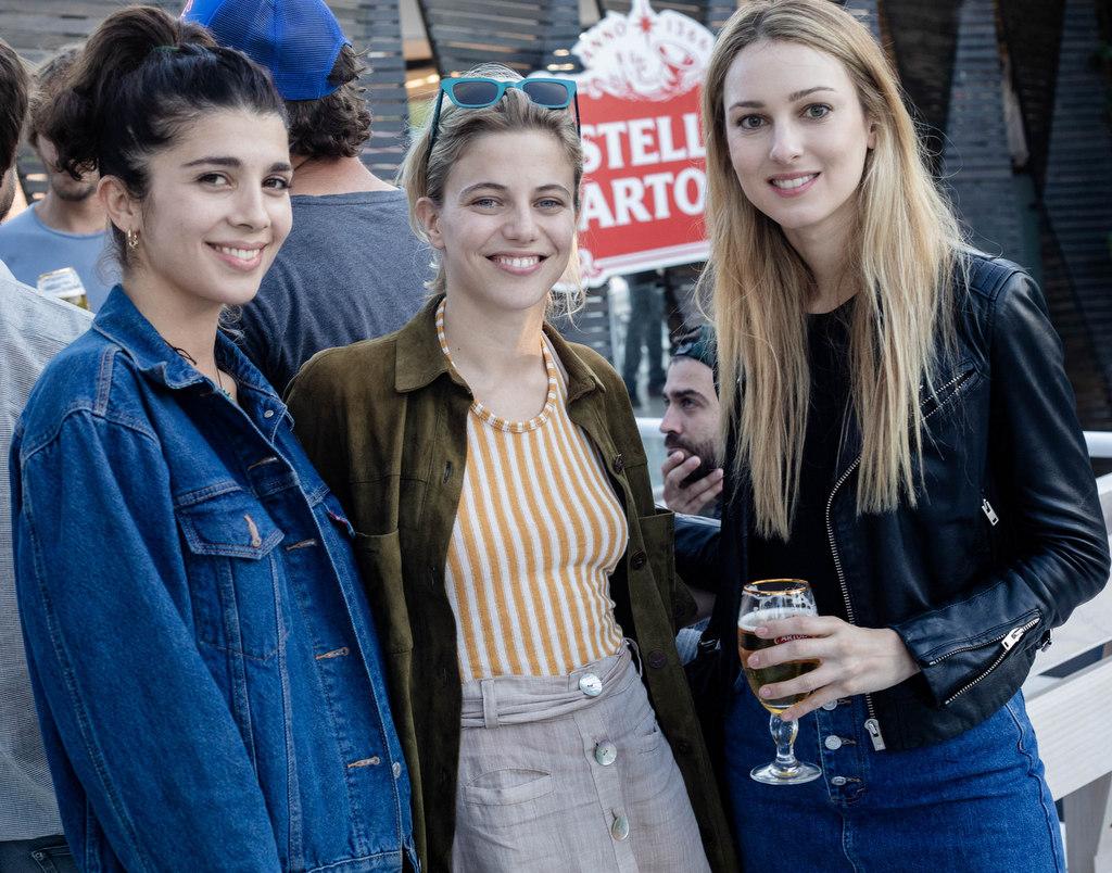 Cala Zavaleta, Justina Bustos y Nieves Zuberbuhler en el Campo Argentino de Polo
