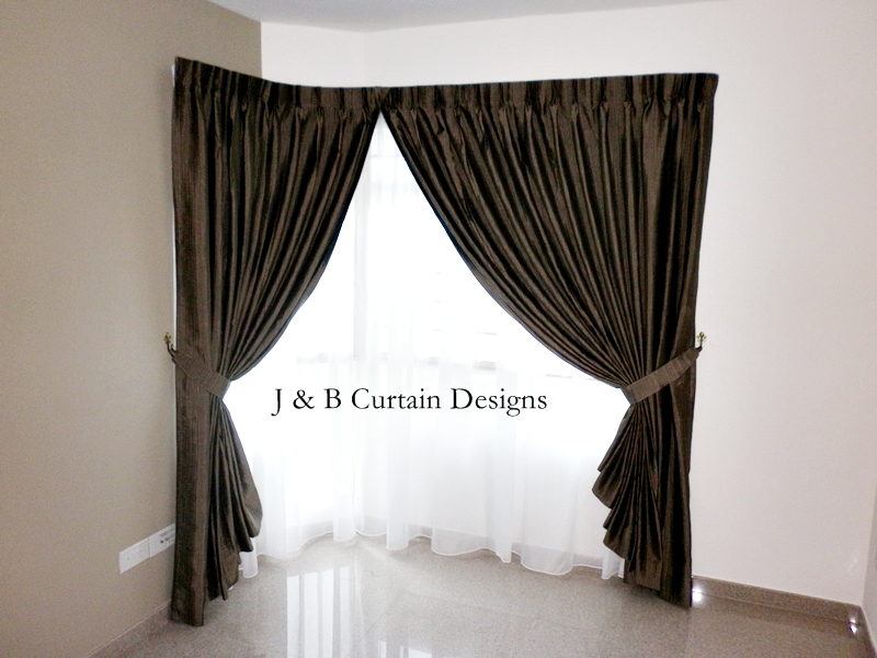 l shaped window curtain rod blankets throws ideas inspiration