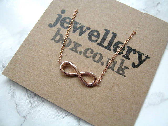 Jewellery Box Rose Gold Infinity Bracelet