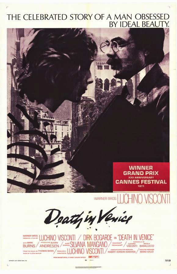 Death in Venice, Poster, Directed by Luchino Visconti