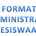 Format Adminsitrasi Kesiswaan