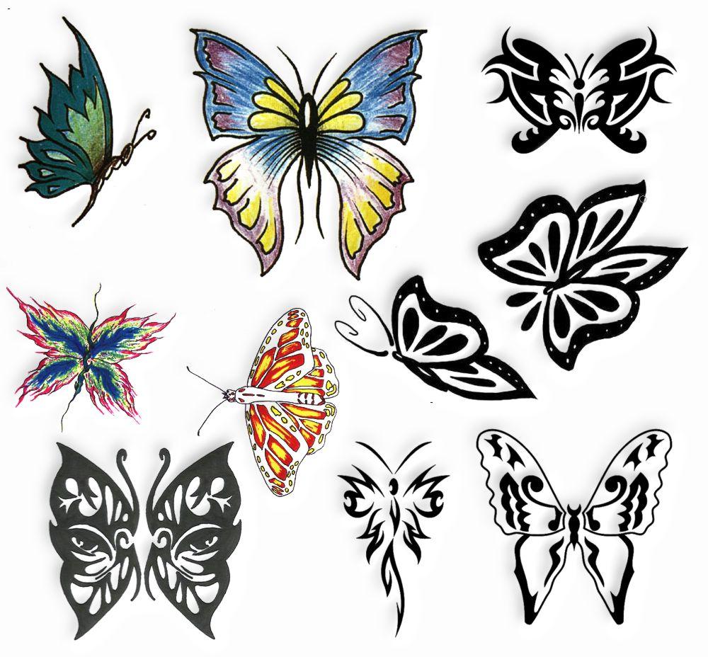Tatuaż Wzory Tatuaży Tatuaże Wzory Motyle